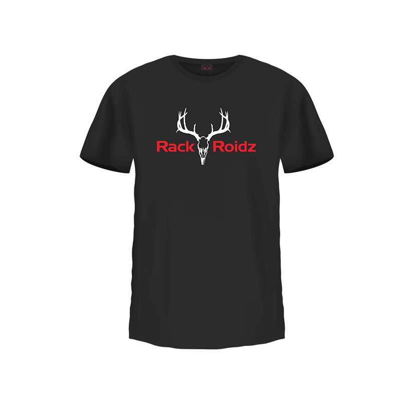Rack Roidz black t-shirt